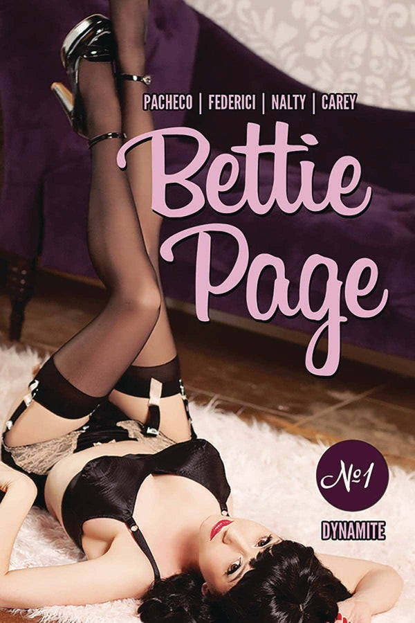 Image of Bettie Page Comic Covers (Cover A or  Cover B) PLEASE SELECT WHICH ONE!