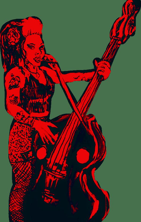 Image of Psychobillly Queen Ver. 2