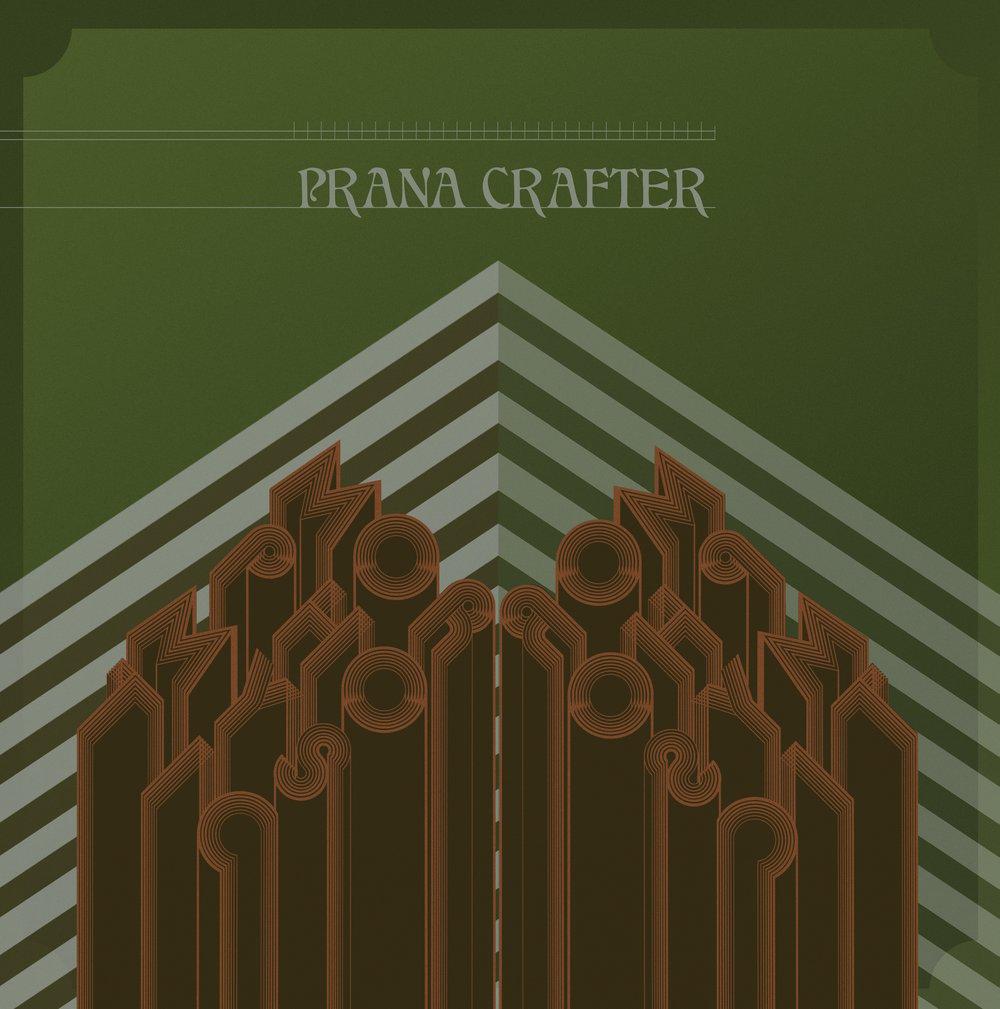 Prana Crafter - MorphoMystic (Heavy Black Vinyl) Cardinal Fuzz - 2 LEFT