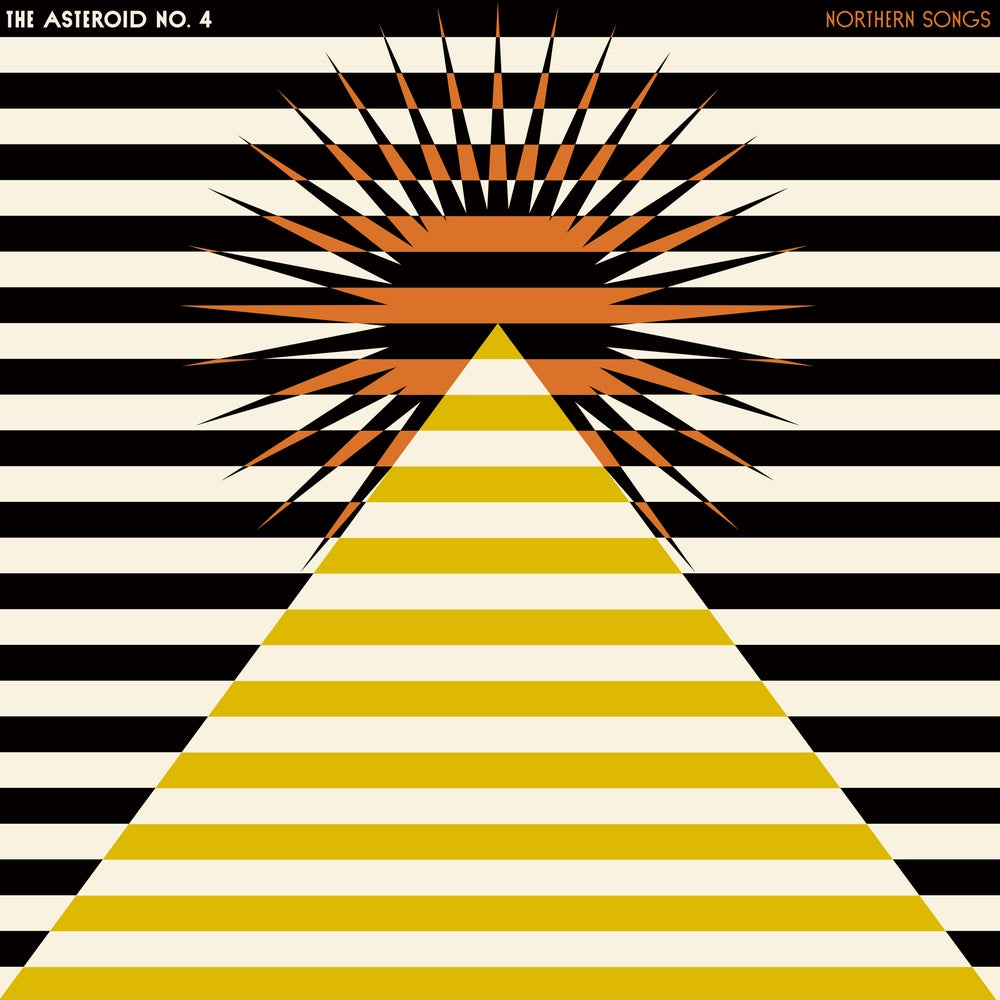 Asteroid No.4 - Northern Songs (Galaxy Marble Vinyl) CARDINAL FUZZ - 3 LEFT