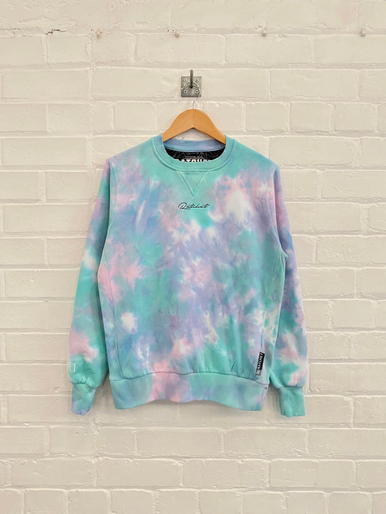 Image of Aqua Tye Dye Sweat