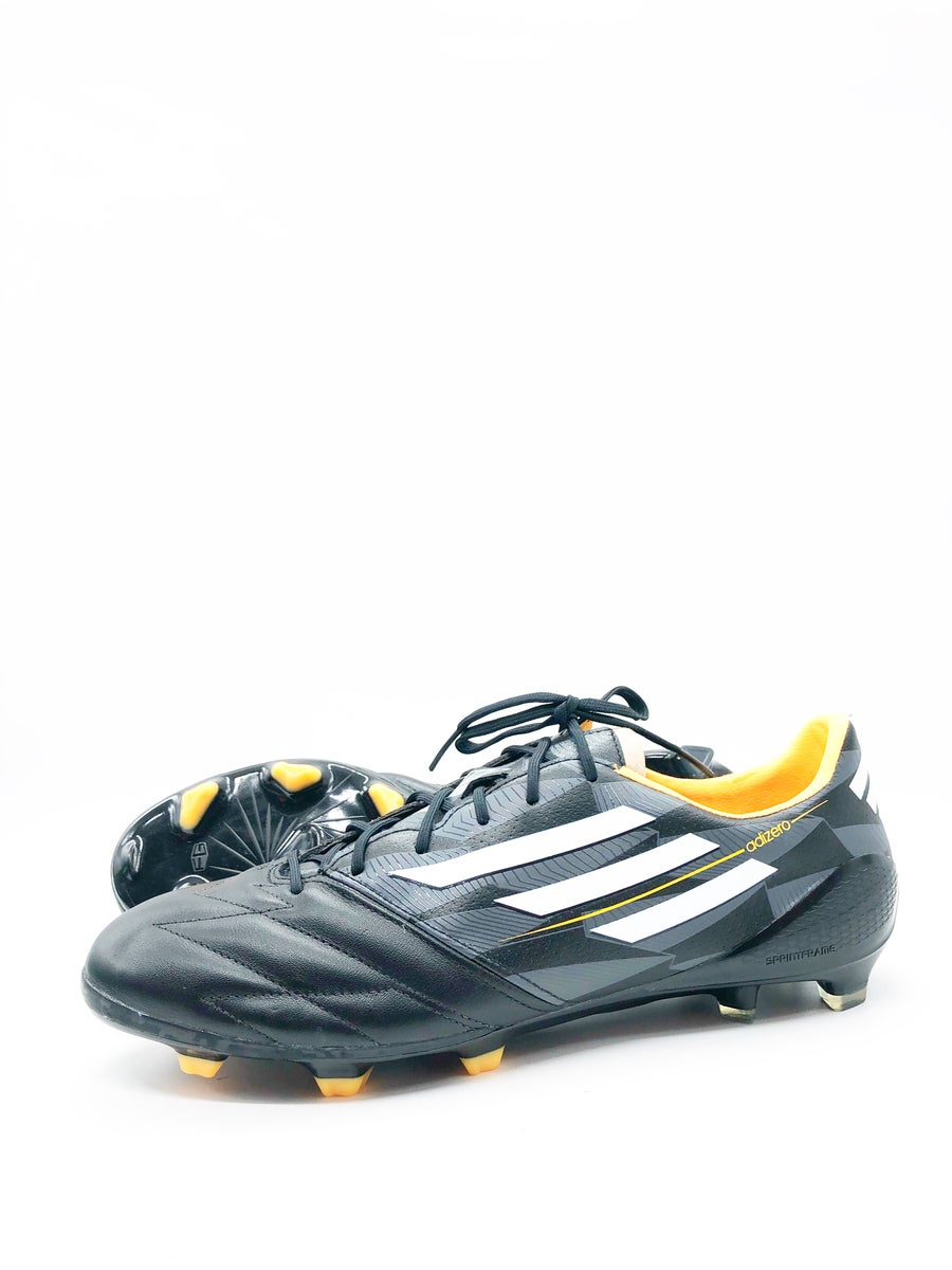 Image of Adidas Adizero F50 black leather FG