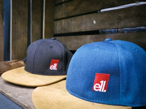 Image of E11evens - Suede peak caps