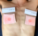 Image of male & mosaic nipple stickers for Instagram