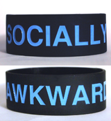 Image of Socially Awkward Bracelet [black]