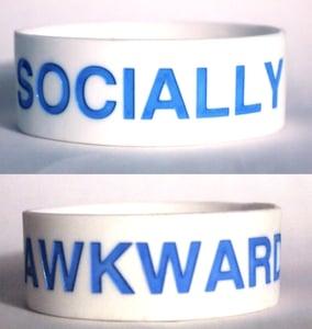 Image of Socially Awkward Bracelet [white]