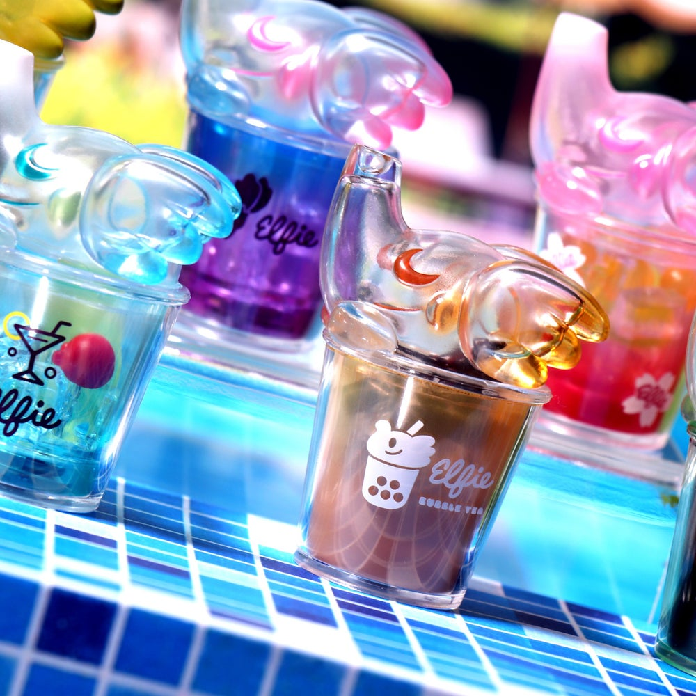 Image of CAFE ELFIE DRINKS BLIND BOX  SERIES 1 (FULL TRAY)