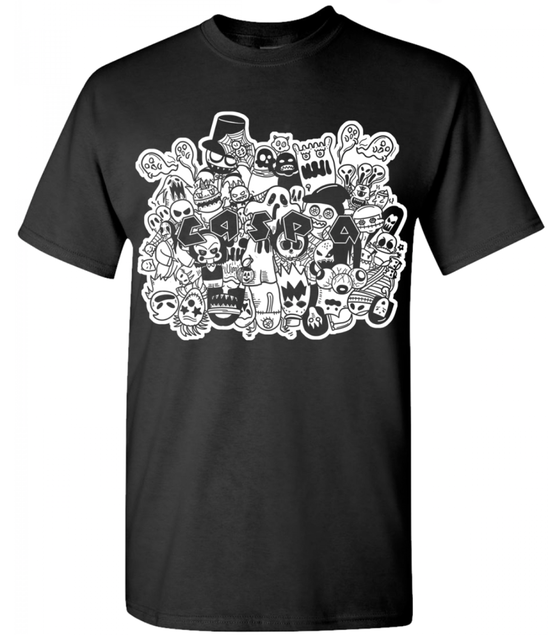 Image of Caspa Ghost T-shirt