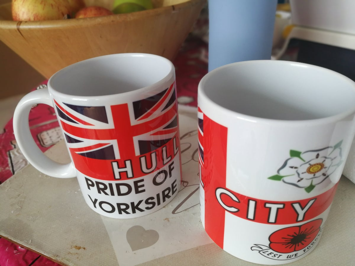 Hull, Football, Casuals, Ultras, Fully Wrapped Mug. Unofficial.