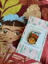New! Frida con gato Pin