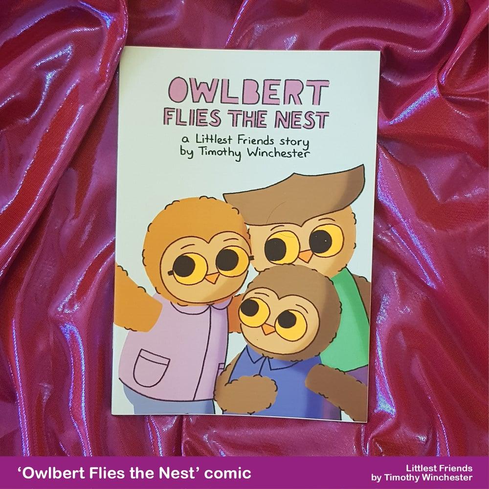 'Owlbert Flies the Nest' - A5 comic