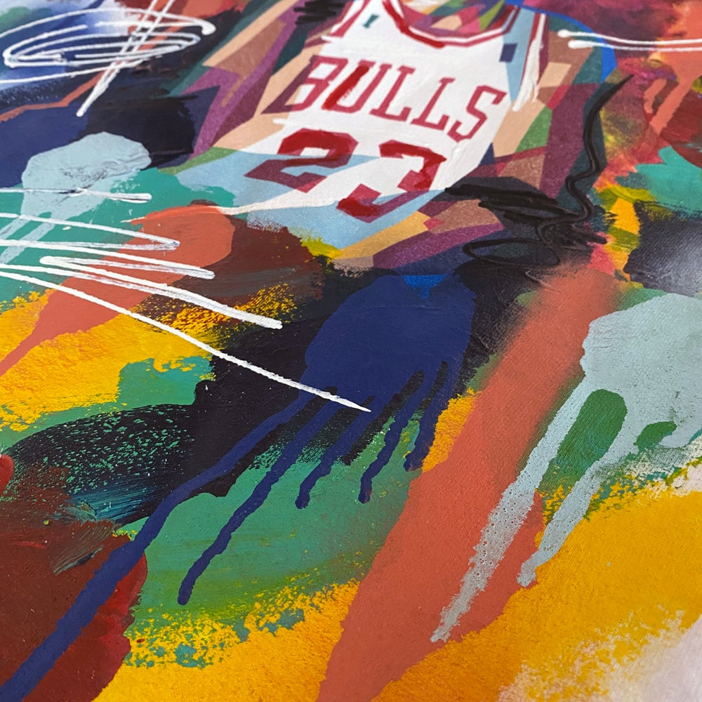 Image of HAND PAINTED - JORDAN