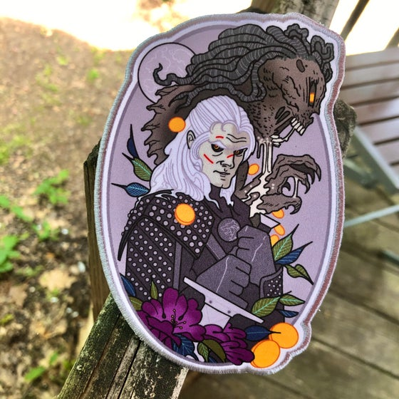 Image of The Witcher Oversized Patch