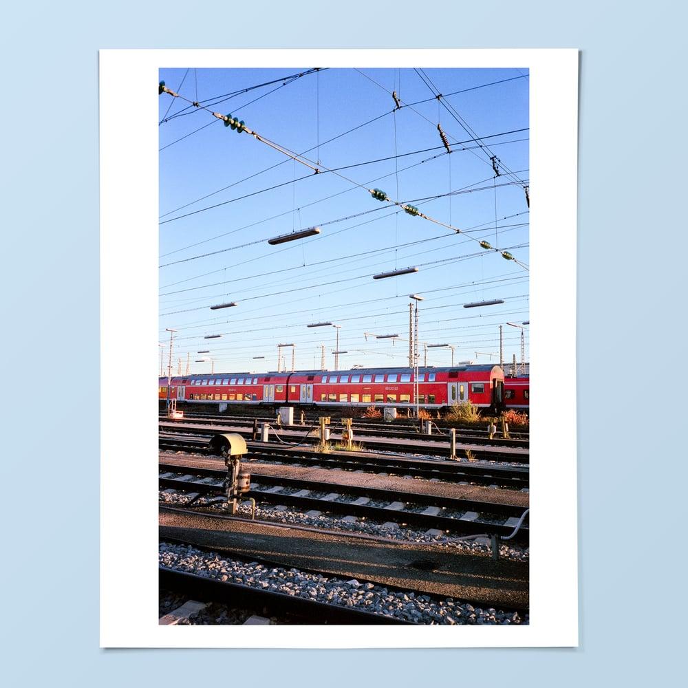 Image of Tram Print