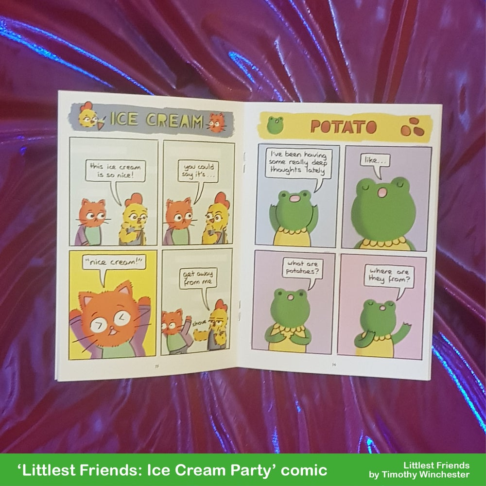 Littlest Friends: Ice Cream Party - A5 comic