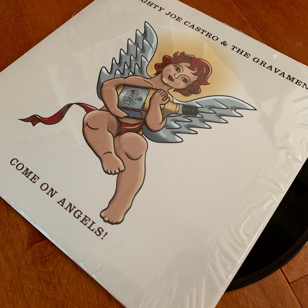 "Image of ""Come On Angels"" 12"" vinyl / Mighty Joe Castro and the Gravamen"