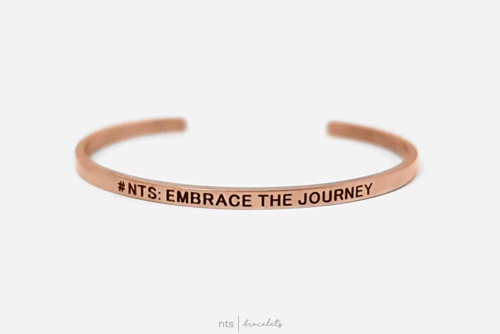 Image of #NTS: EMBRACE THE JOURNEY (Rose Gold)