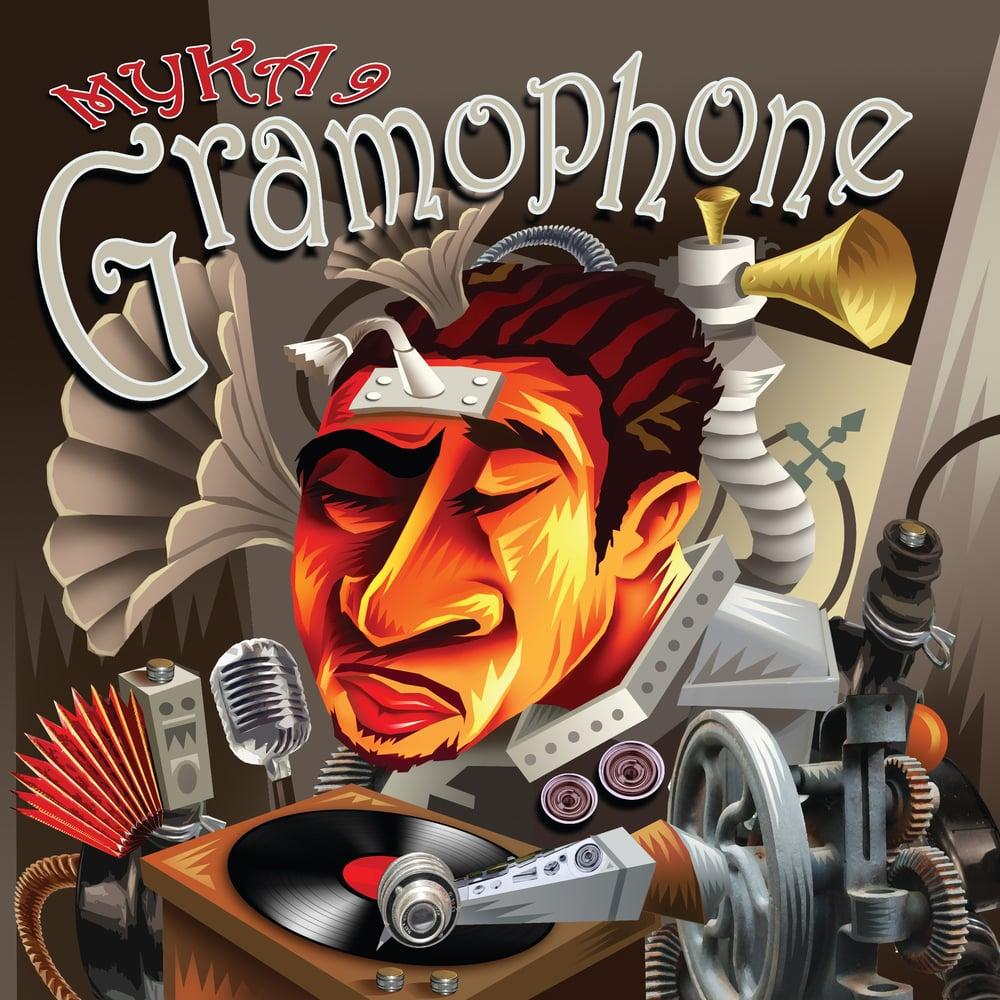 Image of Myka 9 - Gramophone [Eco-CD]