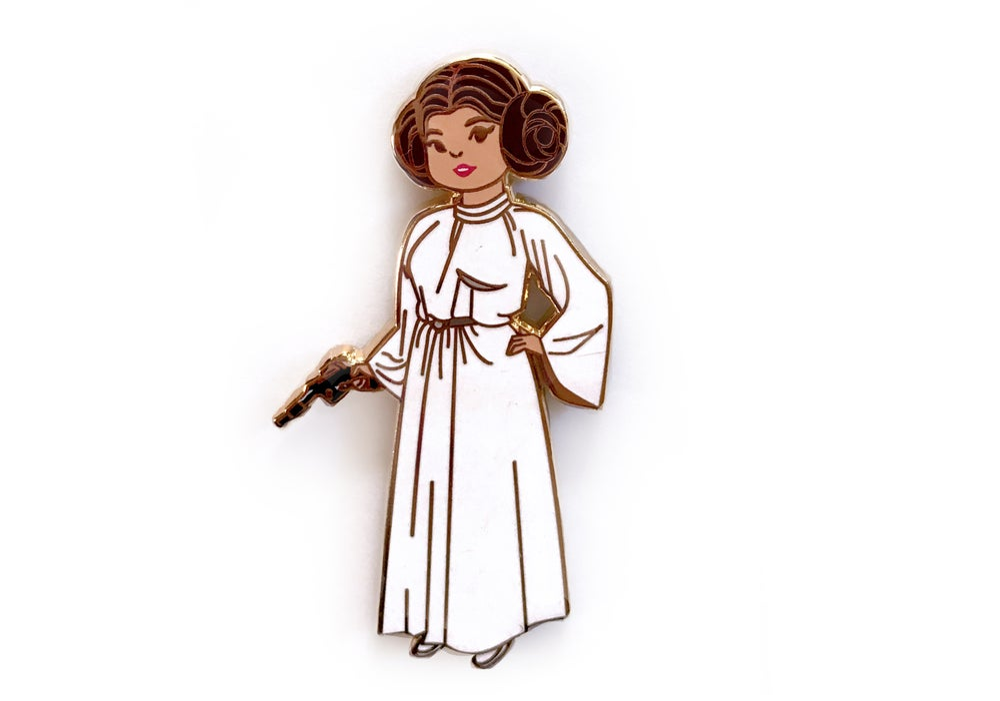 "Image of ""A New Hope"" Leia Enamel Pin"