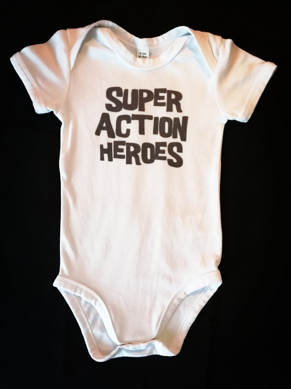 SUPER ACTION HEROES Hero Baby Bodysuit (pre-order)