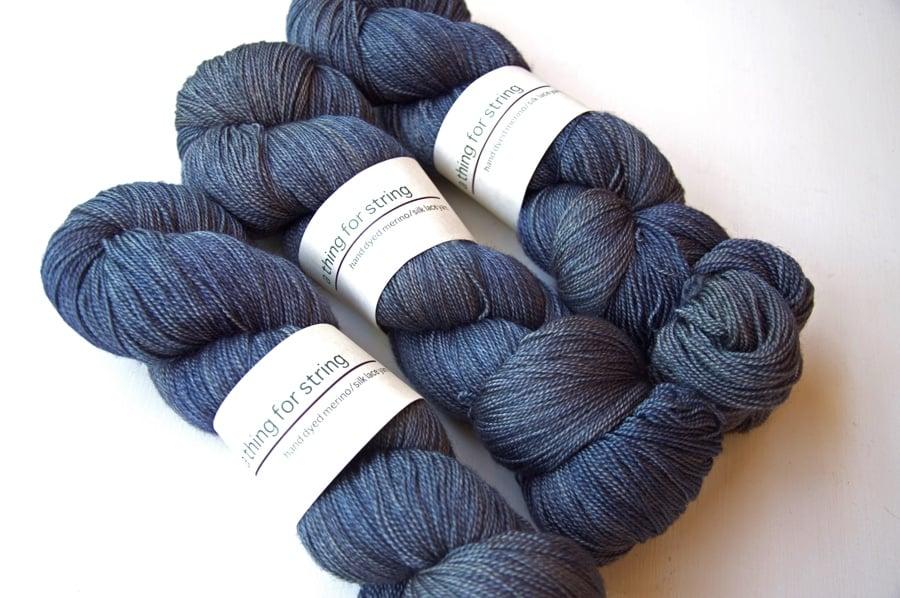 Image of Merino/Silk Lace — Dusk