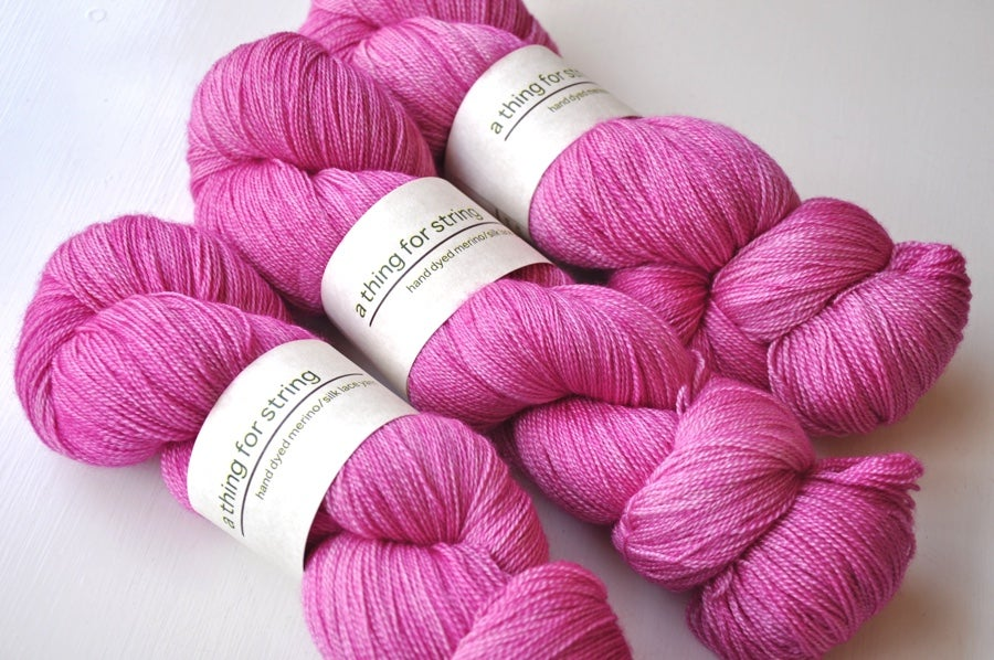 Image of Merino/Silk Lace — First Love