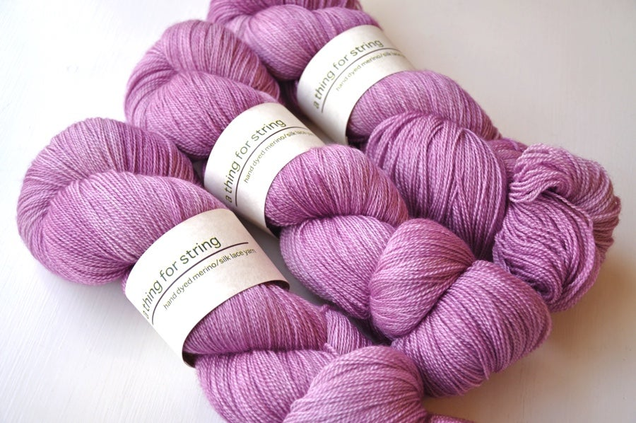 Image of Merino/Silk Lace — Kunzite