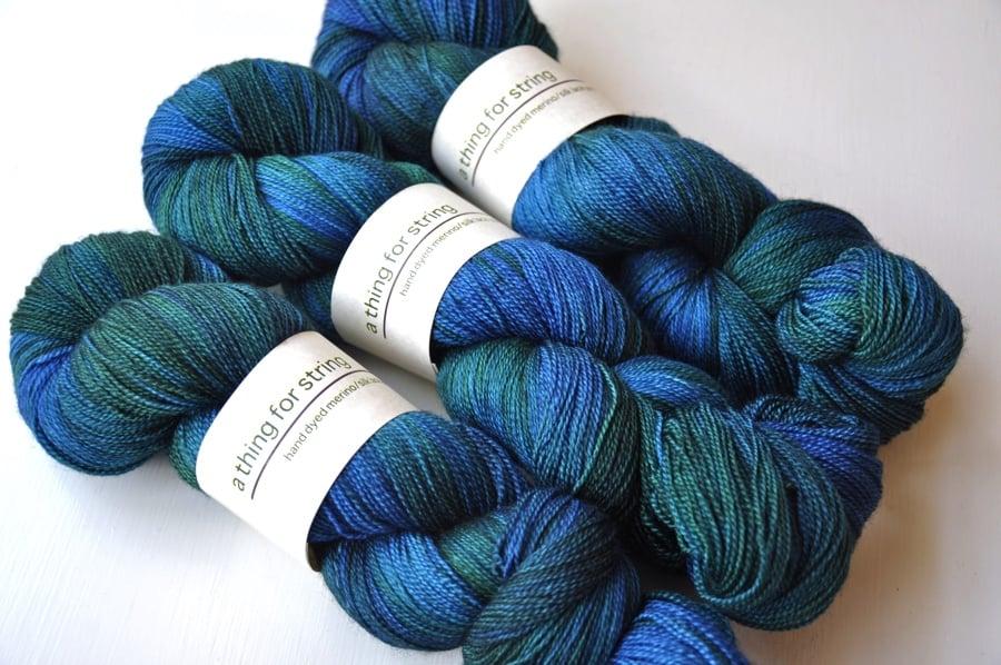 Image of Merino/Silk Lace — Sylvan Twilight