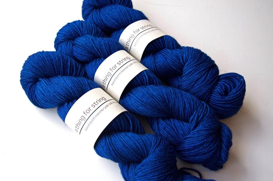 Image of Merino/Yak/Silk DK — Ultramarine