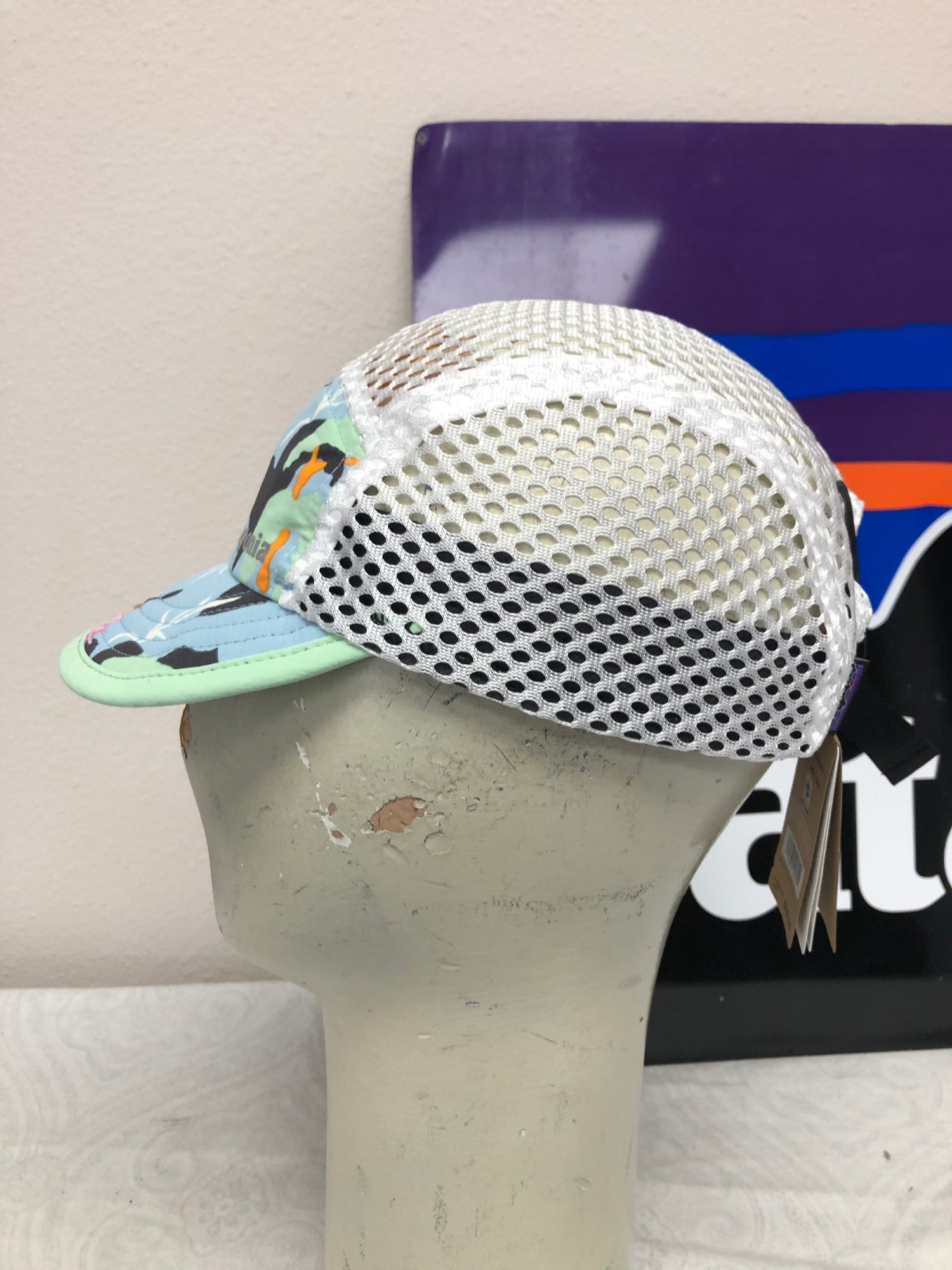 Image of Patagonia 5 Panel Spoonbill Hat Deadstock