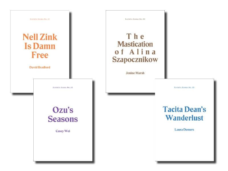 Image of Ecstatic Essays (4-pack)