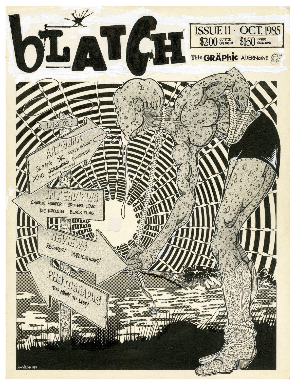Image of BLATCH #11 ink original
