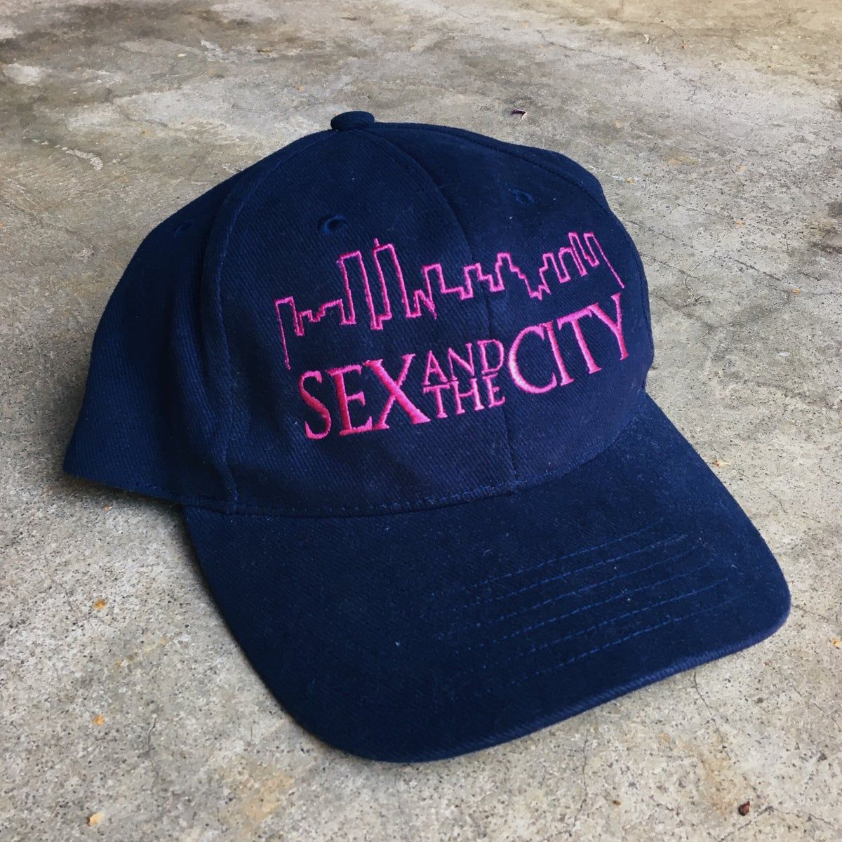 Image of Original Early 2000's Sex And The City HBO Promo Strapback Hat.