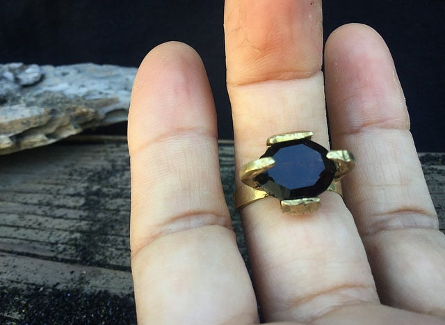 Image of Sight-Seer Ring Smoky Quartz