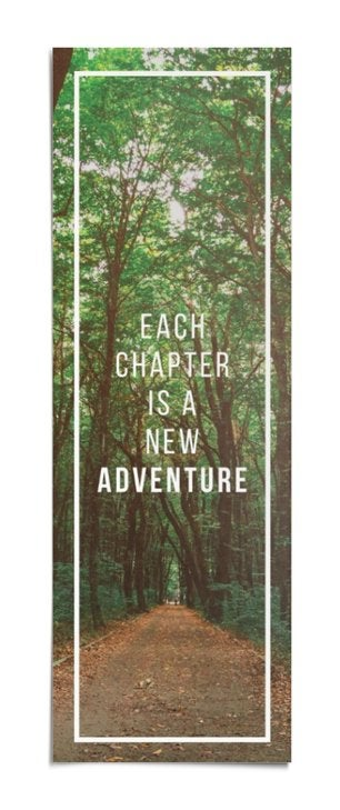 Each Chapter Is a New Adventure