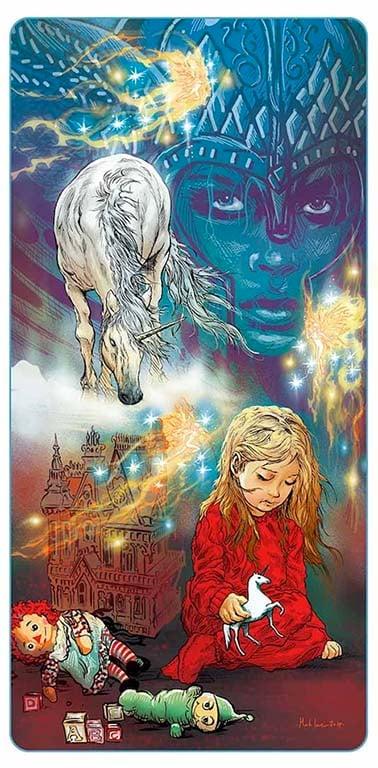Image of Unicorn Dreams GLOW IN THE DARK print