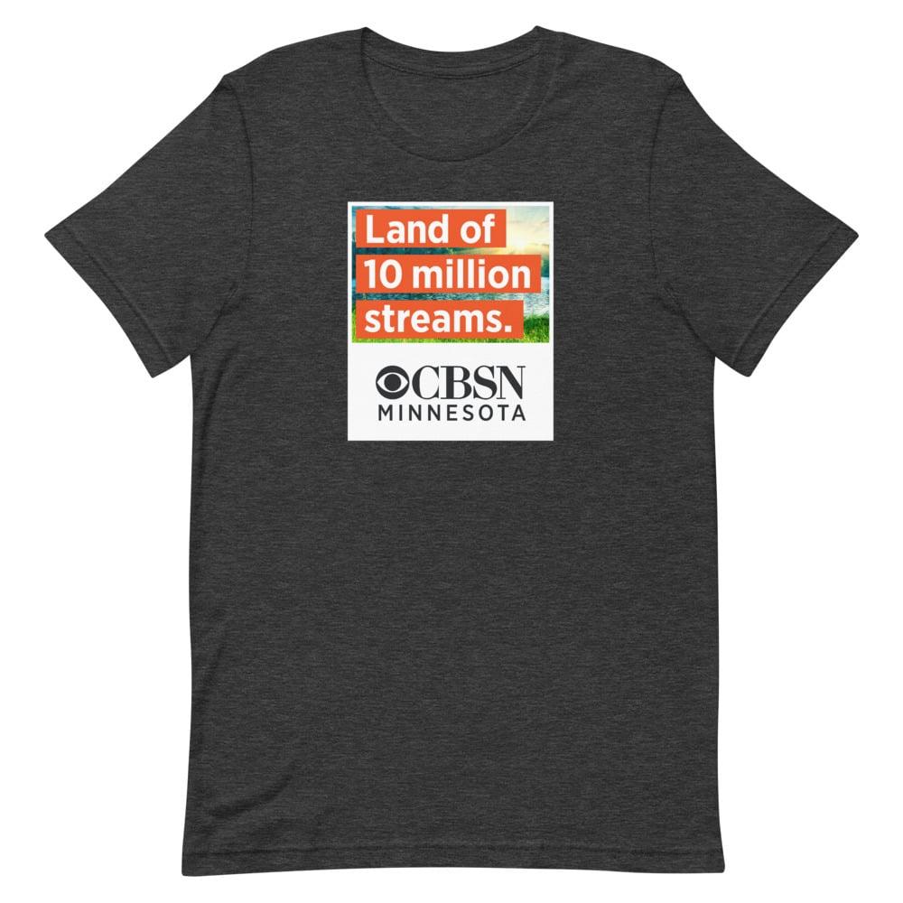 Image of CBSN + Minnesota Black T-Shirt