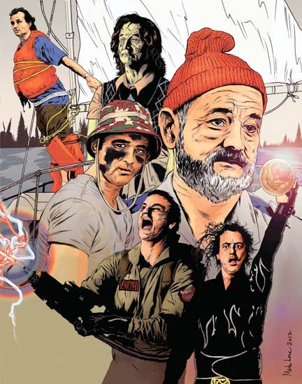 Image of Bill Murray Tribute  *W/FREE SHIPPING*