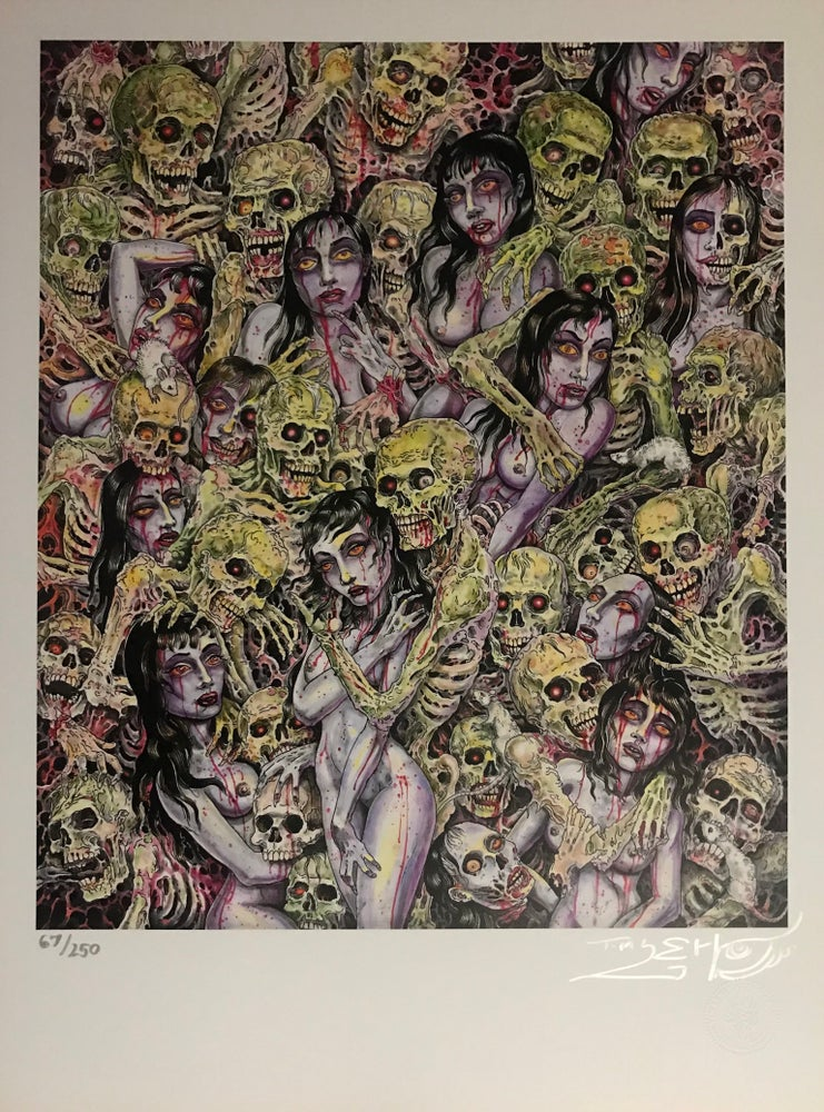 """Image of Tim Lehi """"Zombie Love"""" Signed & Numbered Poster"""