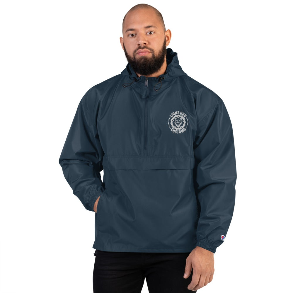 Image of Embroidered Champion Packable Jacket