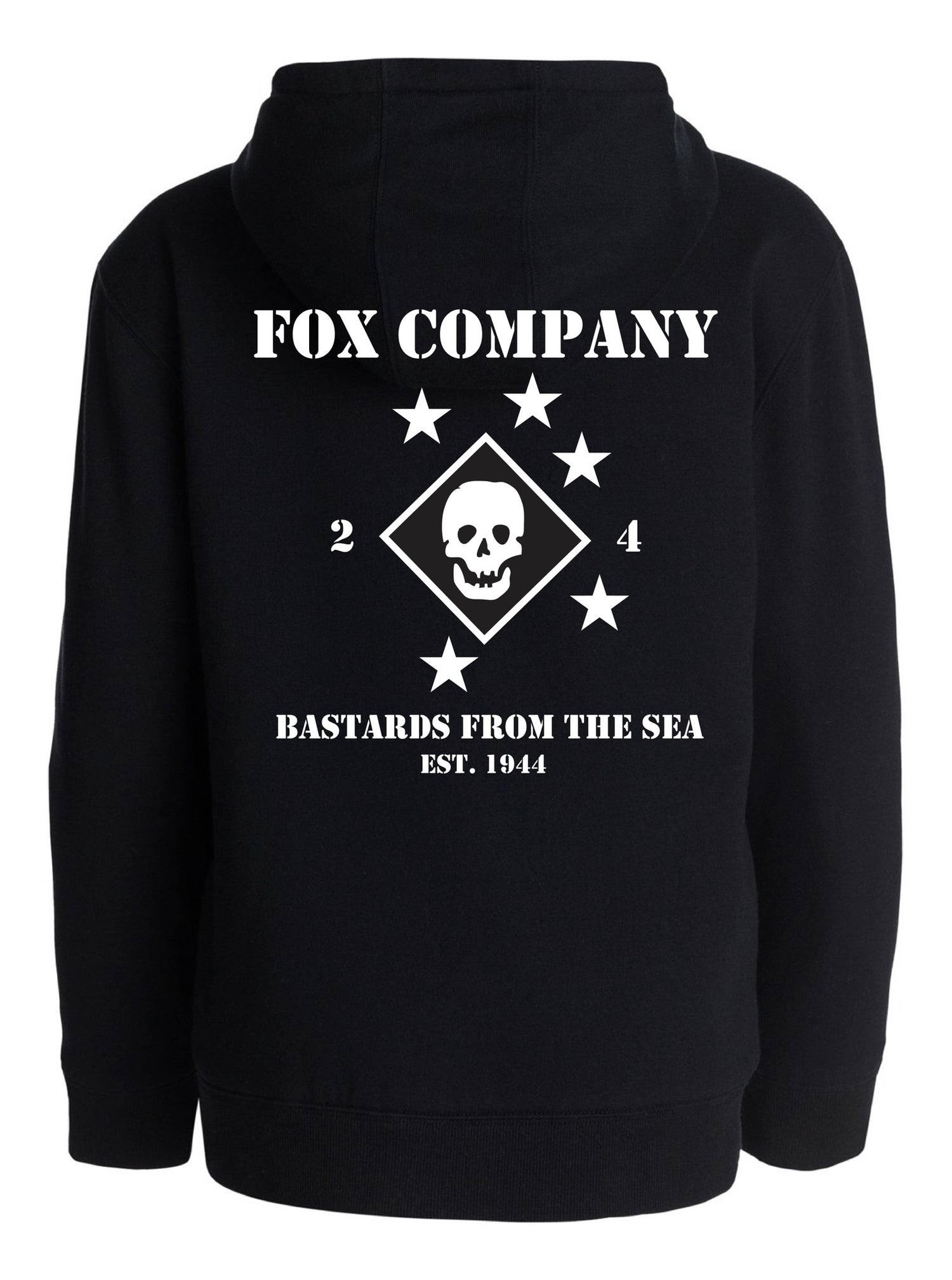 "Image of Fox 2/4 ""Bastards"" Hoodie"