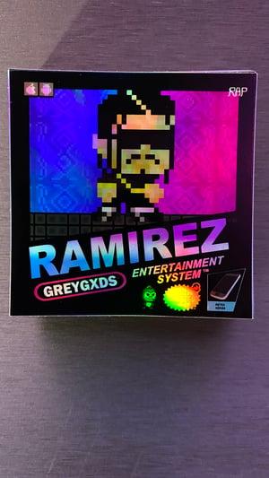 Image of  Ramirez - Retro Gaming Limited Edition Holo/Iridescent Sticker(Version 2)