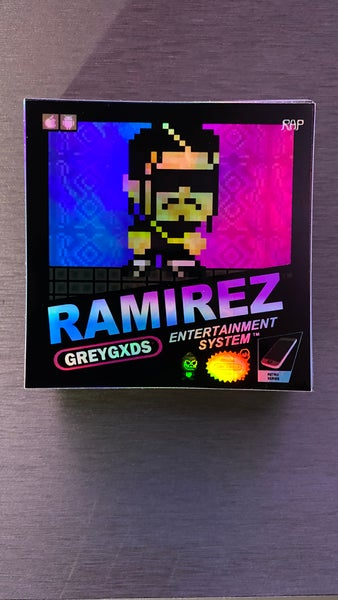 Image of  Ramirez - Retro Gaming Limited Edition Holo/Iridescent Sticker(Version 2)