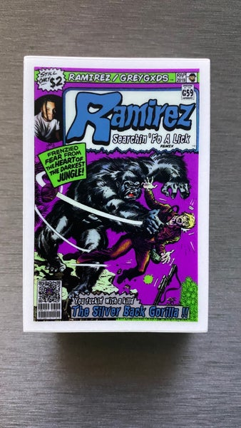 Image of Ramirez - Searchin fo a Lick /Silverback Gorilla Comic Sticker