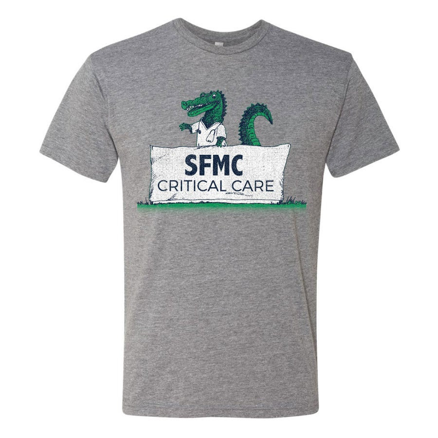 Image of SFMC Critical Care Pre Order- GRAY  Tee