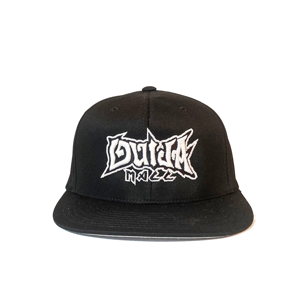 Image of Ouija Macc - Text logo - Fitted hat 2020