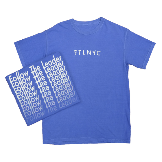 Image of FTL Repeater Tee (Periwinkle)
