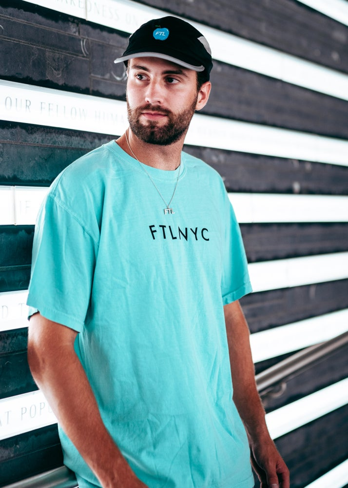 Image of FTL Repeater Tee (Chalky Mint)