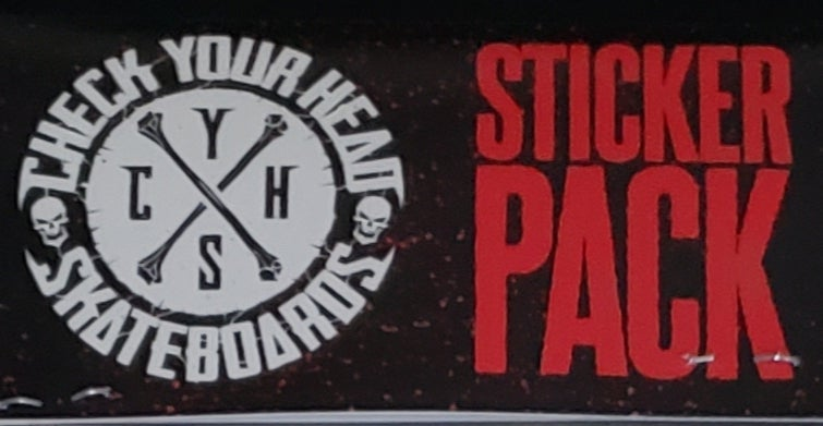 Image of CYH-S STICKER PACK