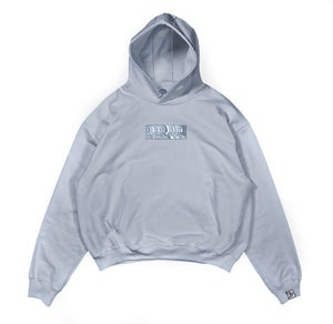 Image of 8th Dimension Light Grey Hoodie